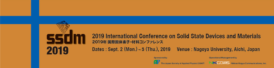 2019年国際固体素子・材料コンファレンス(2019 International Conference on Solid State Devices and Materials)